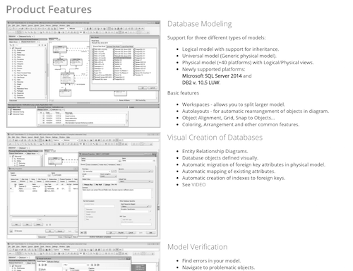 Toad data modeler database modeling tools and database design toad data modeler features ccuart Choice Image